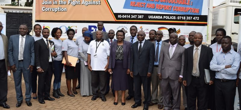 NATIONAL ANTI-CORRUPTION AWARENESS CAMPAIGN LAUNCHED