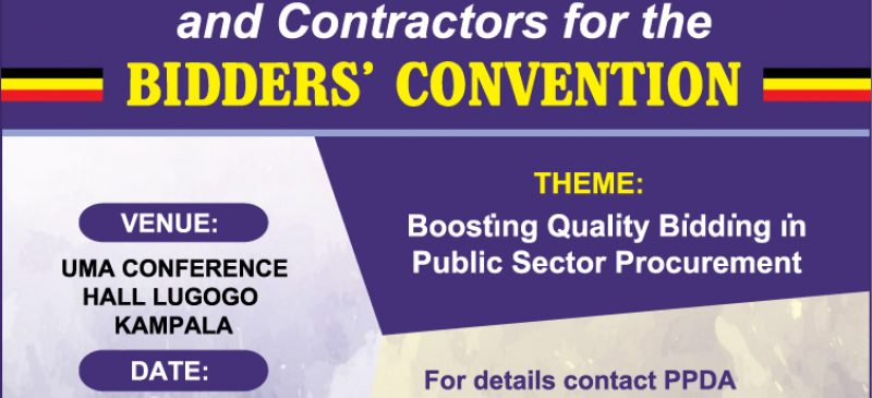 PPDA  BIDDERS' CONVENTION