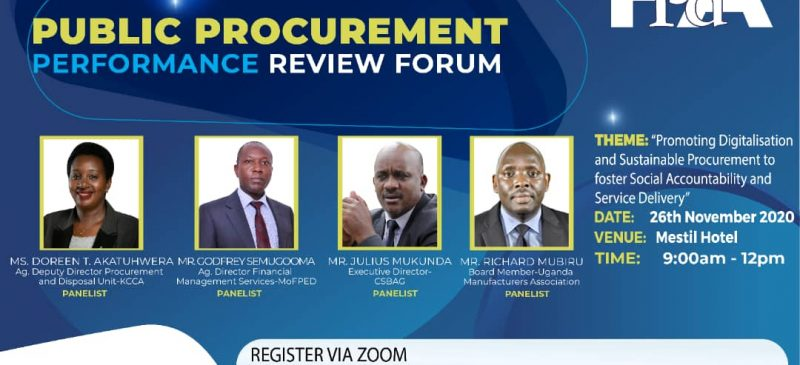 Annual Public Procurement Review Forum (PPRF 2020)