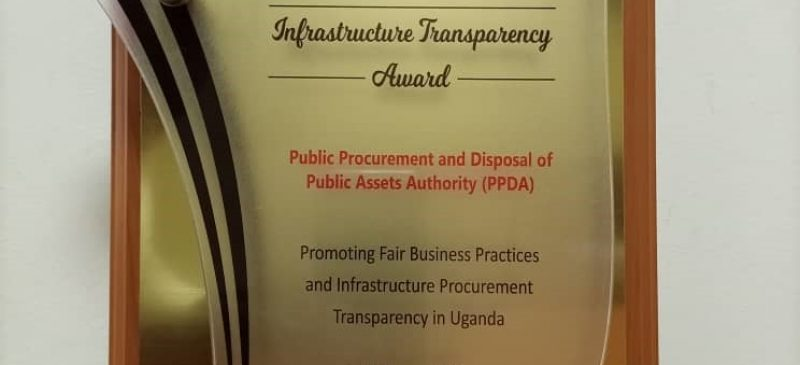 PPDA Awarded for Promoting Transparency