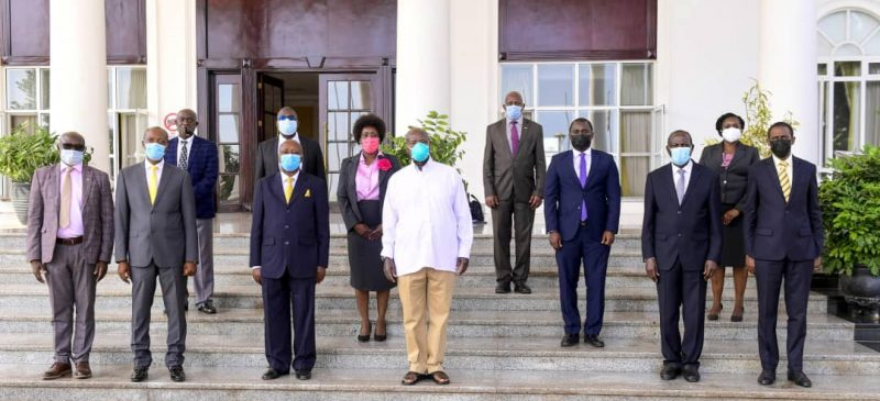 PPDA Board, Management meet H.E, the  President